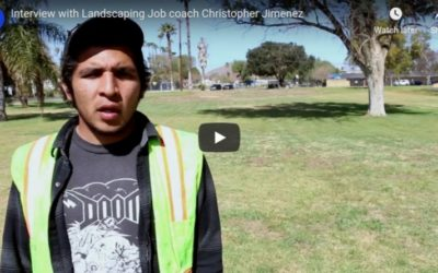 Interview with Landscaping Job coach Christopher Jimenez