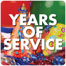 Years of Service: 10/2018