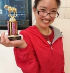 We have a Winner: Tina Park